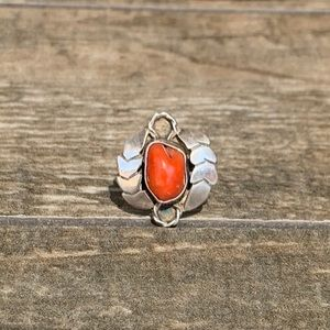 Native American Sterling Silver Vintage Ring
